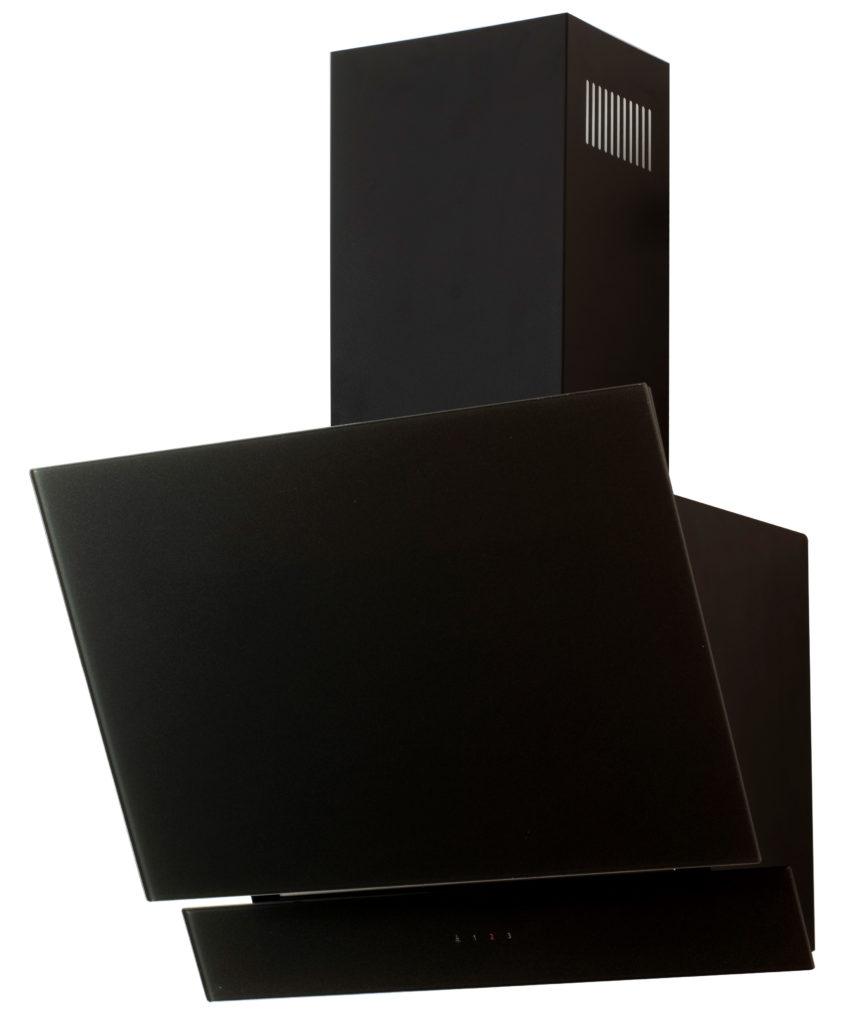 hotte murale noir 60 cm inoval denver inde600xgbk rue. Black Bedroom Furniture Sets. Home Design Ideas